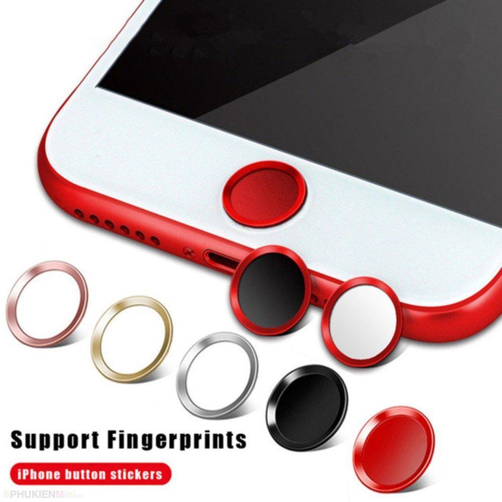 Nút dán cảm ứng vân tay bảo vệ nút home cho iPhone