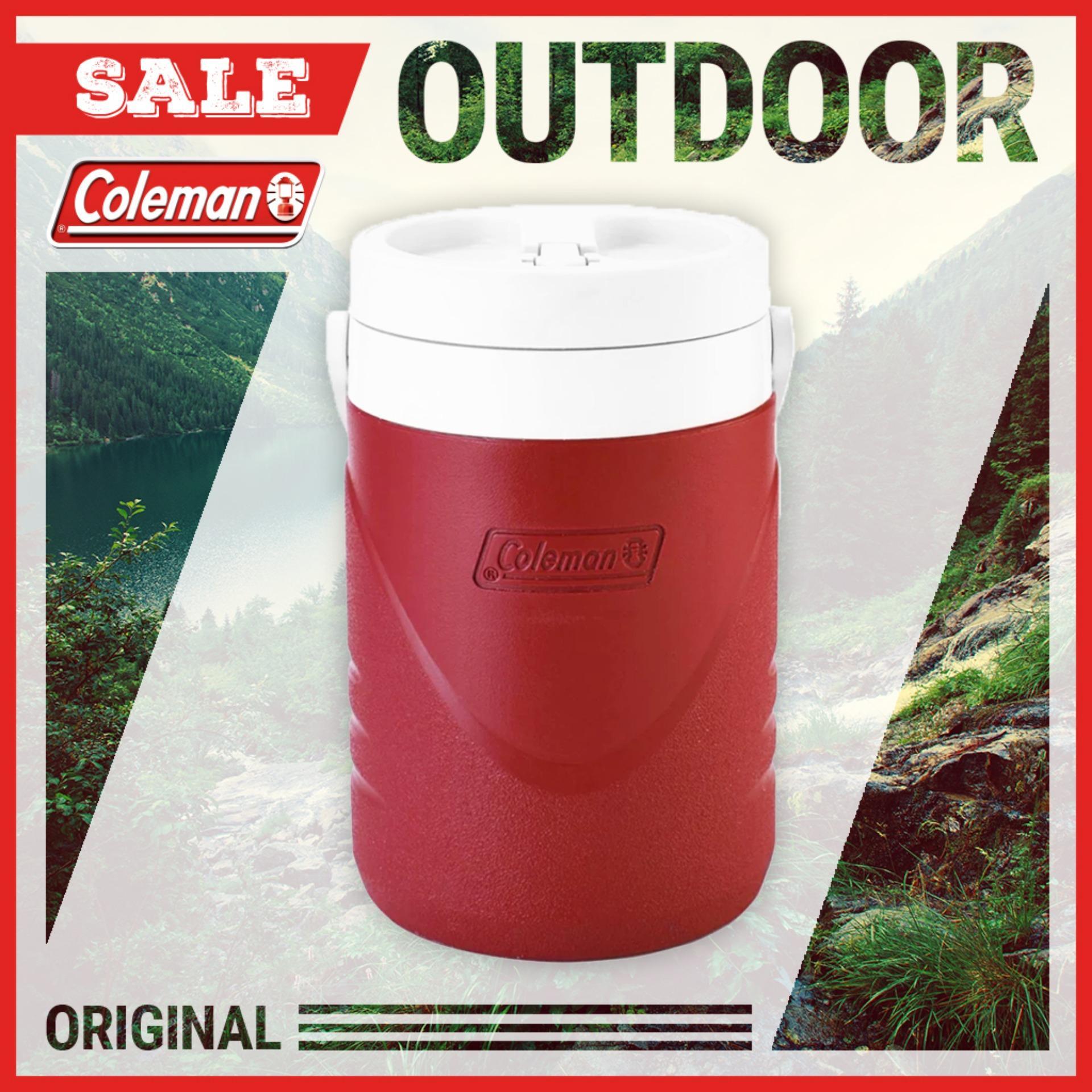 Bình giữ nhiệt Coleman 3.8L (Đỏ) 3000000731 - Hãng phân phối chính thức