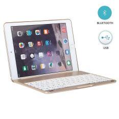 Bàn Phím Dành Cho iPad Air 2 – Bản Lề Gập Như Laptop – Có Đèn Bàn Phím