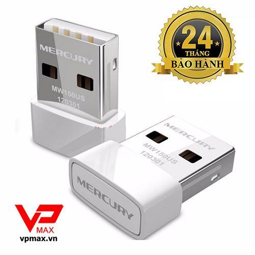 USB thu wifi Mercusys Nano dành cho PC, Laptop BH 2 năm Đang Bán Tại VPMAX.HN