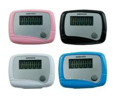 Dụng cụ đếm bước chân theo dõi sức khỏe mỗi ngày cho bạn pedometer (Trắng)