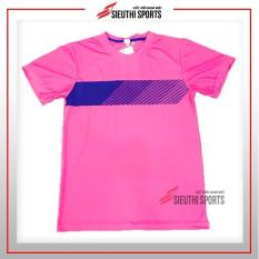 Bộ quần áo bóng đá không logo hồng