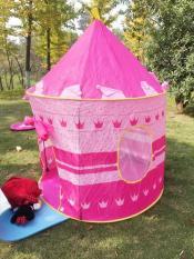 Lều chơi hoàng tử công chúa Cucre cho bé – Màu hồng