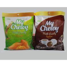 Kẹo My Chewy Milk Candy nhân xoài 360g (khoảng 100c) Thái Lan