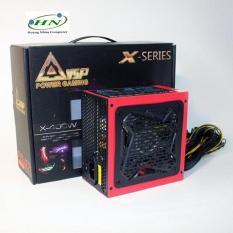 Nguồn công suất thực dành cho máy tính VSP X400W – Fan 12cm đèn led 4 màu (đen)