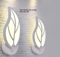 Đèn trang trí gắn tường hình lá NT601 3 chế độ ánh sáng Trắng – Vàng – Trung Tính -Energy Green Lighting – BH 18 tháng
