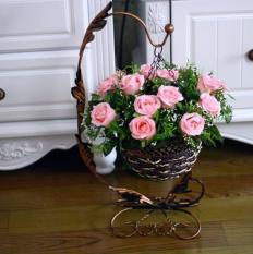 Giỏ hoa treo để bàn phong cách châu âu M-02