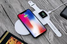 Đế sạc không dây Mini Airpower cho iPhone & Apple Watch – Hàng Nhập Khẩu