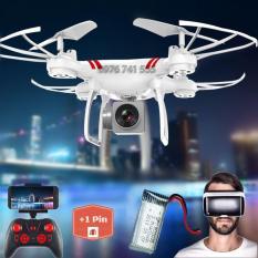 [02 pin] Máy bay Flycam KY101 Cao cấp + Tặng tay cầm điều khiển từ xa (Eco Homes Bảo hành 1 đổi 1)