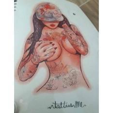 hình xăm dán cô gái goi cảm bắp tay (qua tặng đầu xuân 3 mini tattoo khi mua 5 san phâm đồng size)