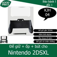 Đế giữ cho Nintendo 2DSXL + bút + ốp nhựa – KJH 2DSXL-04