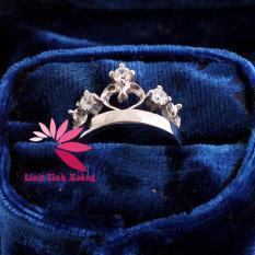 Nhẫn nữ mạ bạc cao cấp My Princess MK238