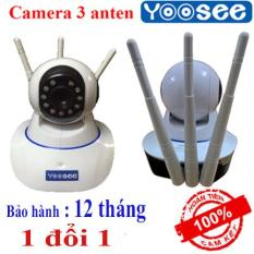 Camera Wifi giám sát 3 râu Yoosee – 10 đèn hồng ngoại quay trong đêm