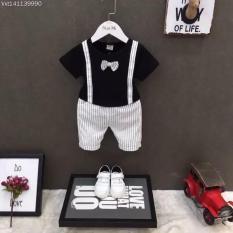 Bộ quần áo công tử sành điệu cho bé.