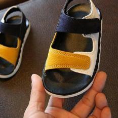 Sandal quai hai màu cho bé trai