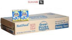 Sữa Bột Pha Sẵn Grow Plus (Xanh) Tăng Cân 110ml (Thùng 48 hộp)