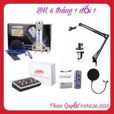 Combo Bộ Livestream Micro AMI BM900- Card HF5000- Dây MA1- Màng Chân Kẹp