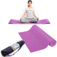 thảm tập yoga cao cấp + túi đựng thảm ( nhiều màu)