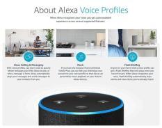 Thiết Bị Nhận Diện Giọng Nói Alexa Echo Dot Thông Minh