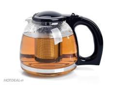 Bình lọc trà thủy tinh cao cấp + Tặng bộ 2 giá treo phích cắm điện