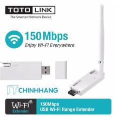 Thiết Bị Kích sóng Wifi Repeater ToToLink EX100 (Trắng) – HÃNG PHÂN PHỐI CHÍNH THỨC