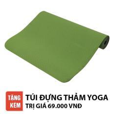 Thảm tập Yoga Relax EC TPE 2 lớp 6mm cao cấp