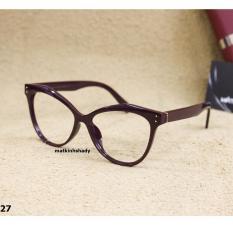 Gọng kính mắt mèo Shady G827.2 (Đỏ)