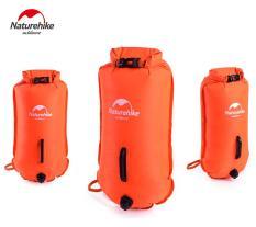 Túi khô bơm hơi kết hợp làm phao bơi NatureHike NH17S001-G 28L
