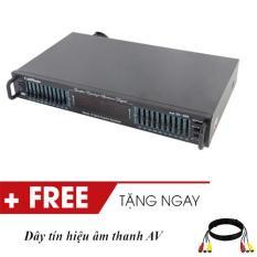 Đầu lọc xì lọc tiếng chỉnh âm thanh equalizer karaoke XIMAX EQ5400 màu đen