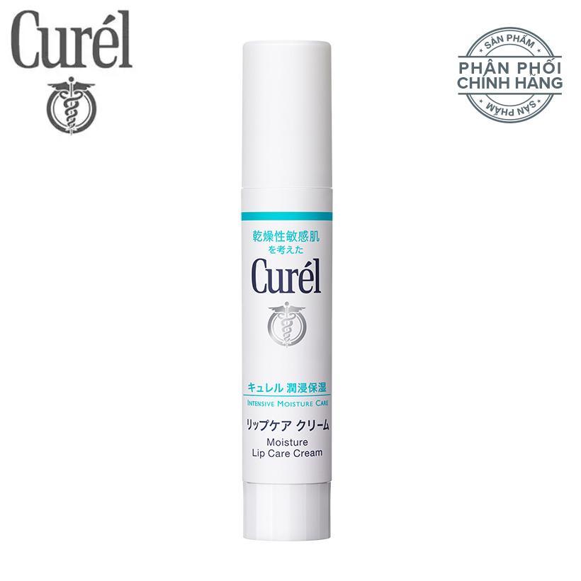 Son Dưỡng Môi Cấp Ẩm Chuyên Sâu Curel Intensive Moisture Care Moisture Lip Care Cream 4.2g Không Màu