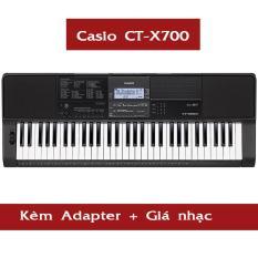 [HCM][Trả góp 0%] Đàn Organ Casio CT-X700 kèm AD + Giá nhạc ( CTX700 ) – HappyLive Shop