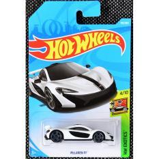 Ô tô mô hình tỉ lệ 1:64 Hot Wheels 2018 Mclaren P1 170/365 ( Màu Trắng )