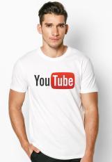 Áo thun nam in hình YouTube phong cách hàn quốc vải dày mịn ATNK1078