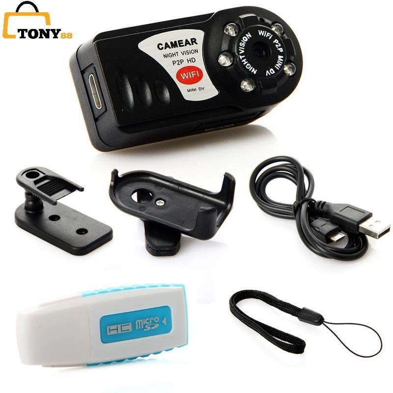 Camera mini Camera Q7 wifi độ phân giải 1080P -Alida