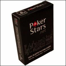 Bài nhựa Plastic Poker Stars 2018
