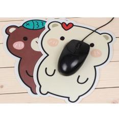 Bàn di chuột hình gấu dễ thương – Tấm pad lót chuột