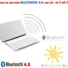 Mua Bàn Phím Bluetooth – Bao Da Kiêm Bàn Phím Bluetooth Hỗ Trợ Các Dòng Điện Thoại Ios, Android, Windows Với Kiểu Dáng Mornh Và Gọn Nhẹ, Tiện Lợi Cho Việc Cầm Nắm Và Di Chuyển | | Bảo Hành 1 Đổi 1 Toàn Quốc Mã Bh 177