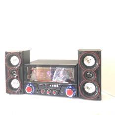 Dàn âm thanh tại nhà – loa vi tính cỡ lớn hát karaoke có kết nối Bluetooth USB Isky – SK 335 2.1 Tặng kèm Mic hát