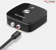 Bộ thu Bluetooth 4.2 cho loa, amly hỗ trợ cổng 3.5mm + RCA chính hãng Ugreen UG-40759 cao cấp
