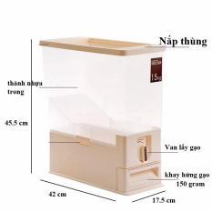 Thùng Đựng Gạo Thông Minh 16kg