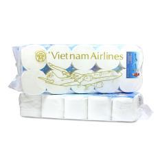 Lốc giấy vệ sinh 3 lớp Vietnam Airlines Loại 1 (10 cuộn/ 1 bịch)