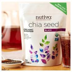 Hạt chia Nutiva Organic Chia Seed 907g (Nhập khẩu Mỹ)