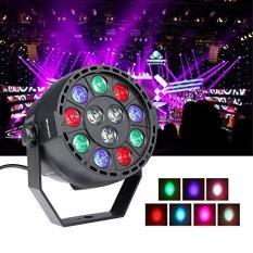 Đèn LED 7 màu sân khấu cảm ứng nhạc