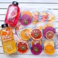 30 Gói Trà Detox hoa quả sấy khô, DETOX KOREA Tặng bình Pongdang 600ml