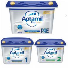 Sữa bột Aptamil Pre, số 1, số 2 – Đức