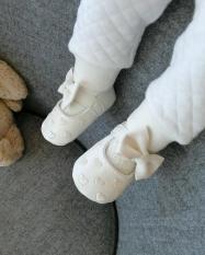 Giày hài bé gái da PU siêu mềm size 0-18 tháng