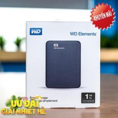 Ổ Cứng Di Động WD Elements 1Tb kết nối USB 3.0 (Hàng Nhập Khẩu)