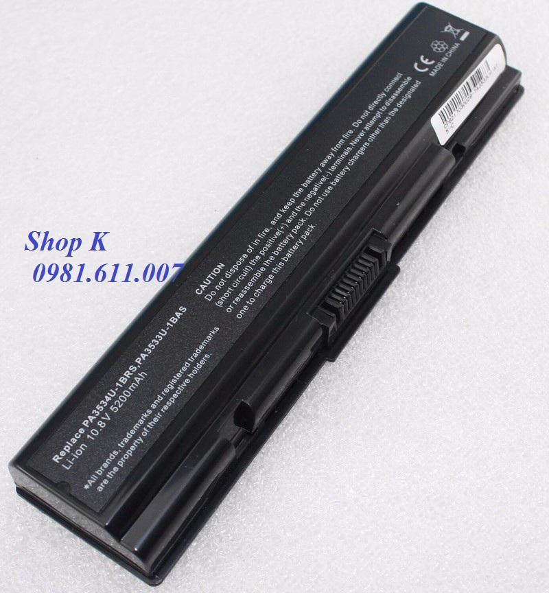 So sánh giá Pin Laptop Tosiba L300 L305 L450 L455 L500 L550 (Màu Đen) Tại Shop  K