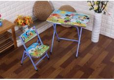 Bộ bàn ghế học tập gấp gọn cho bé – Kmart