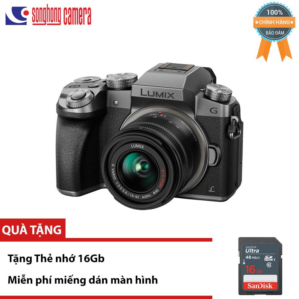 Máy ảnh Panasonic Lumix DMC G7 kèm kit lens 14-42mm – Tặng thẻ nhớ 16Gb